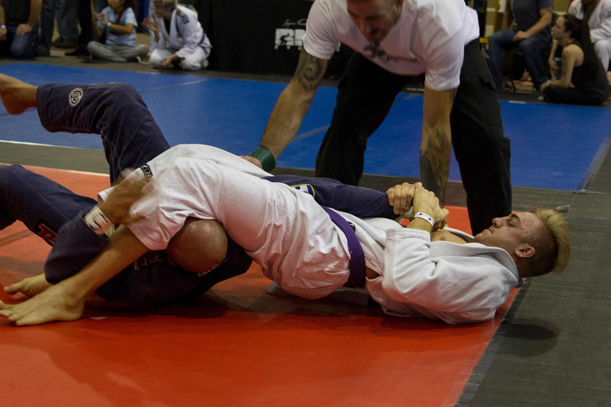 Garett Irons Arm Bar In Jiu Jitsu Competition